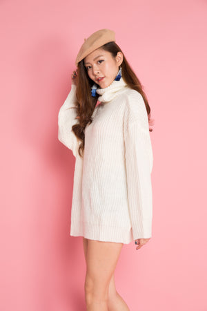 Imela Knit Tunic in Cream