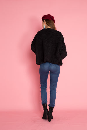 PREMIUM - Winnia Wool Jacket in Black