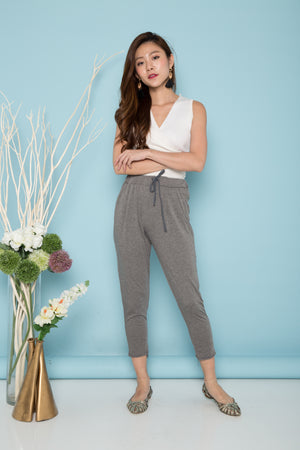 Mallory Comfy Lounge Pants in Dark Grey