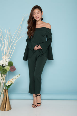 Load image into Gallery viewer, LUXE - Terelia 2 Piece Set in Emerald