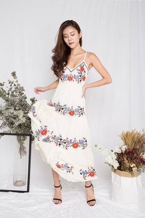 Anniella Embroided Maxi Dress