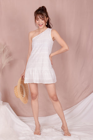 *PREMIUM* - Rolia Crochet Romper in White - Self Manufactured by LBRLABEL