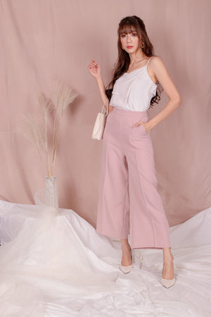 *PREMIUM* - Teslia Pants in Pink - Self Manufactured by LBRLABEL