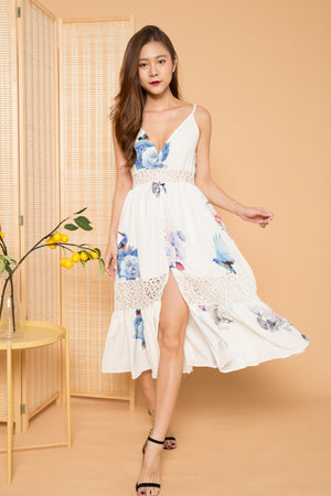 LUXE - Sedelia Floral Maxi Dress