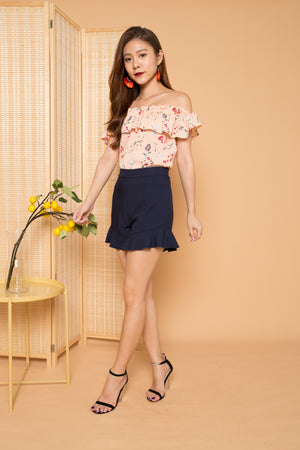 Sherri Floral 3 Ways Top in Pink