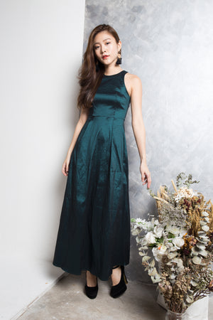 LUXE - Gigi Gown Dress in Green