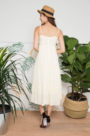 Anniella Embroided Maxi Dress V.2