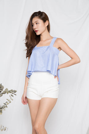 Rayton 2 Ways Stripes Top in Blue