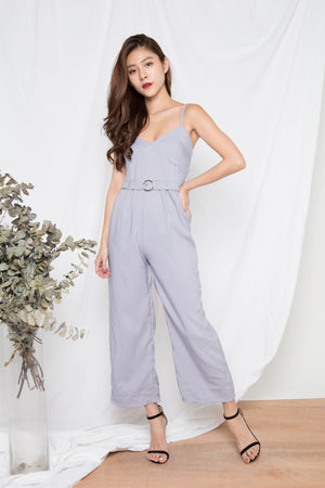 Mariam Chain Jumpsuit in Grey