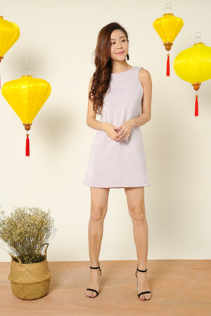 Madison Shift Dress in Grey