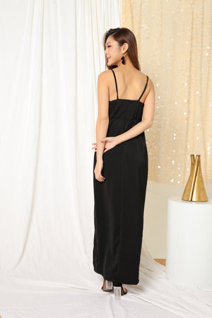 LUXE- Joeise Gown Dress in Black