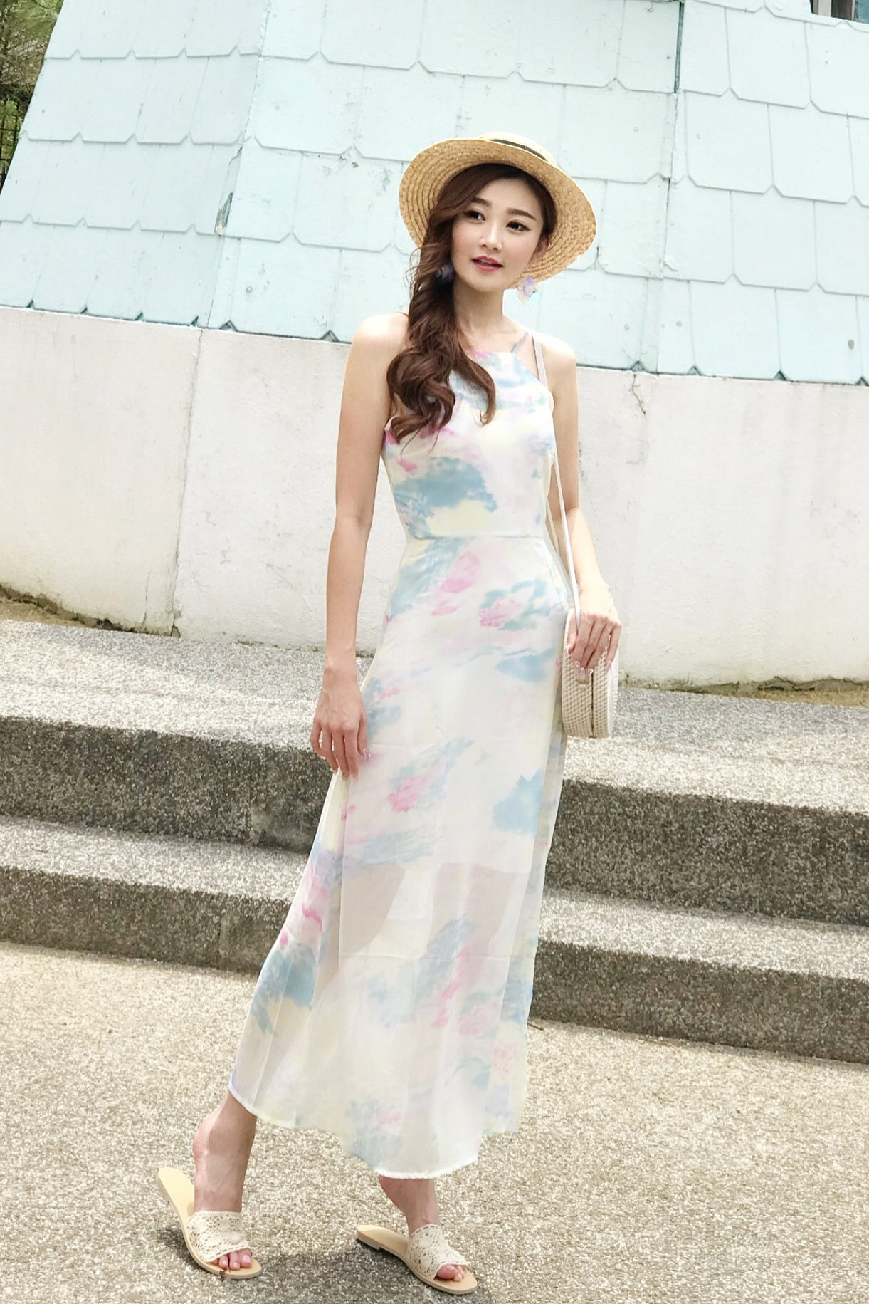 Pastel Full Length Dresses Ficts