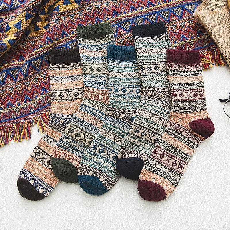 5 Pair of Norwegian Winter Socks