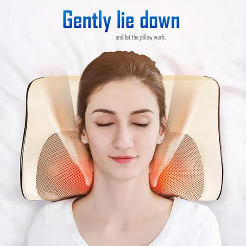 Electric Cervical Heated Massage Pillow