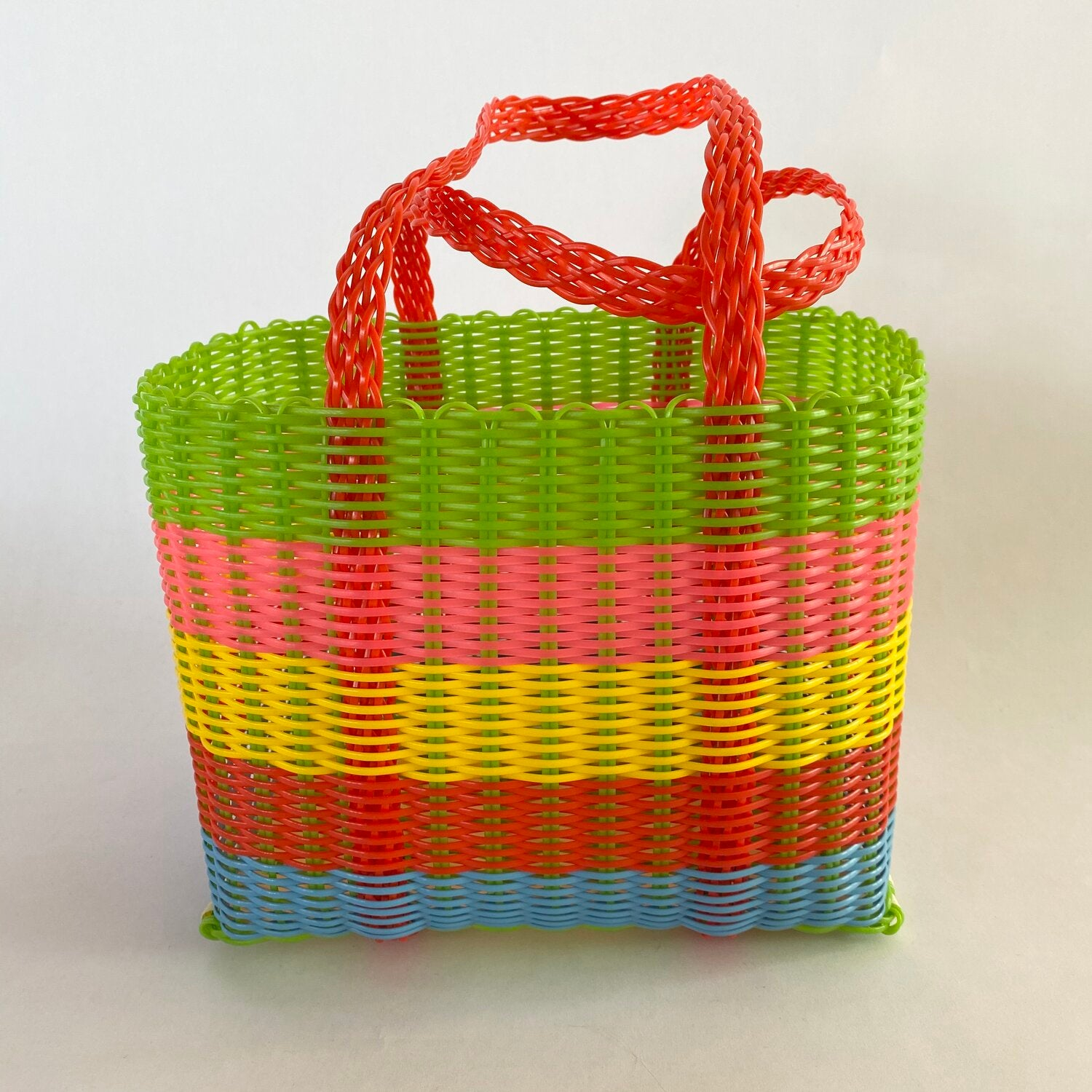 bright stripe handbag