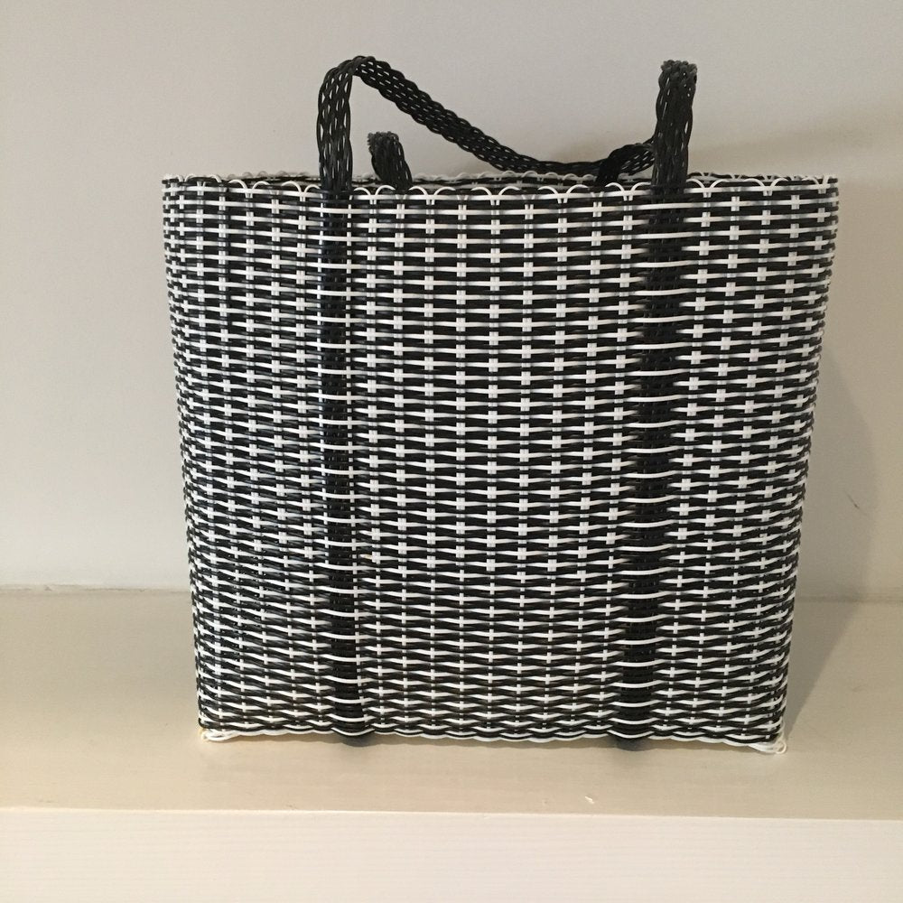 black & white large bag