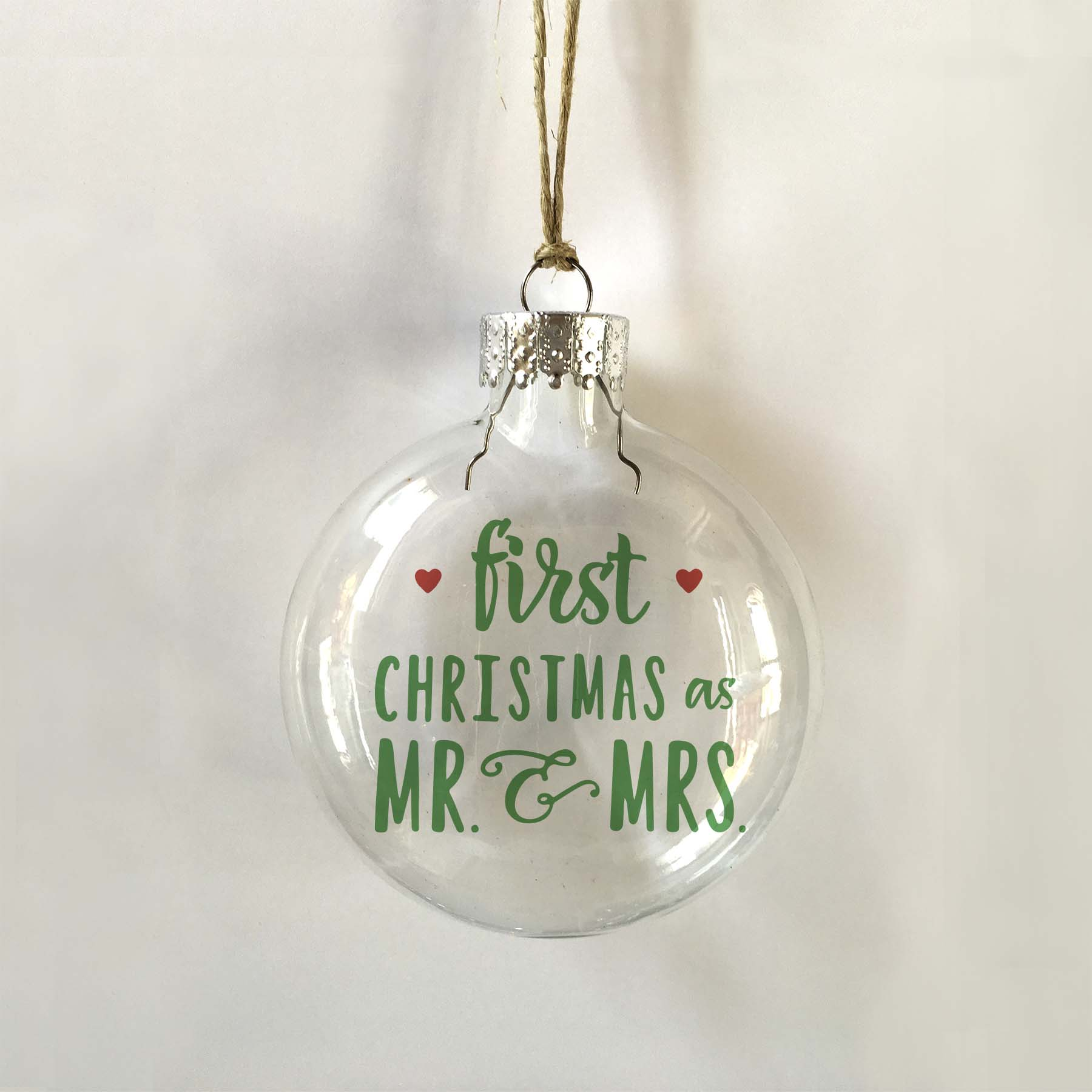 first christmas mr mrs