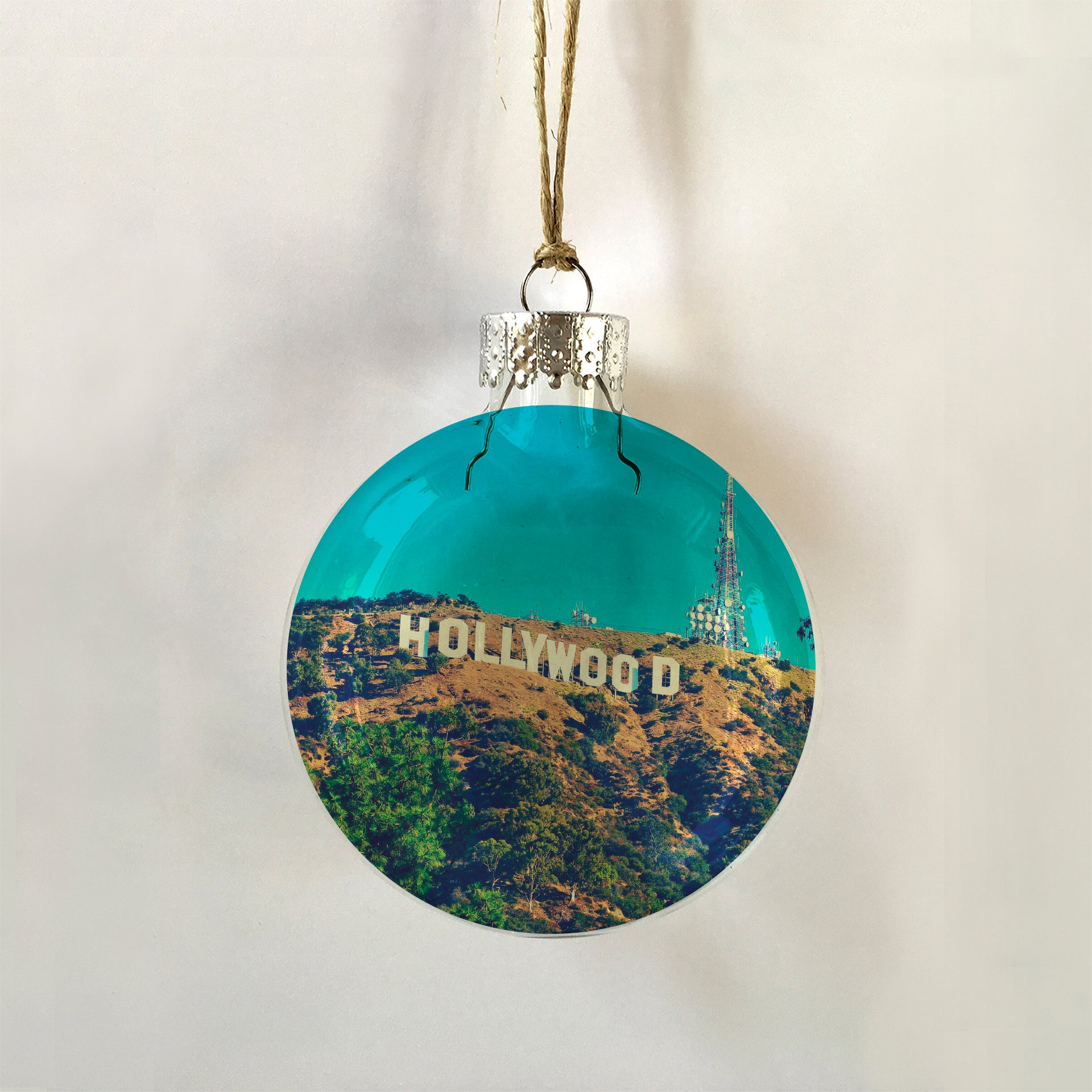 Hollywood sign ornament