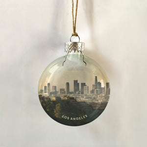 los ángeles city view ornament