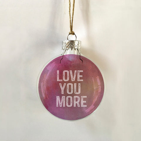 love you more pink