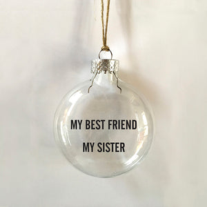 sister best friend