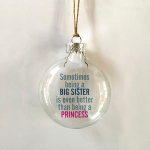 big sister princess