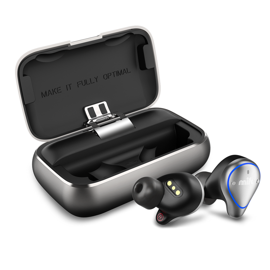 Mifo O5 Professional Balanced Armature Smart True Wireless Bluetooth 5.0 Earbuds - Free Shipping