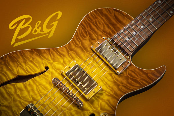 B&G Guitars, Hypnotic appointed as the exclusive agent in Asia.