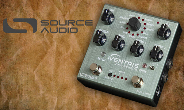 Source Audio Ventris, Hypnotic Sounds, new distributor for France