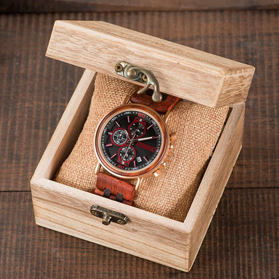 Montre en bois - Apollon