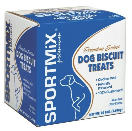 SPORTMiX Wholesomes Gourmet Biscuit with Real Cheddar Cheese Grain-Free Dog Treats, 20 lb.