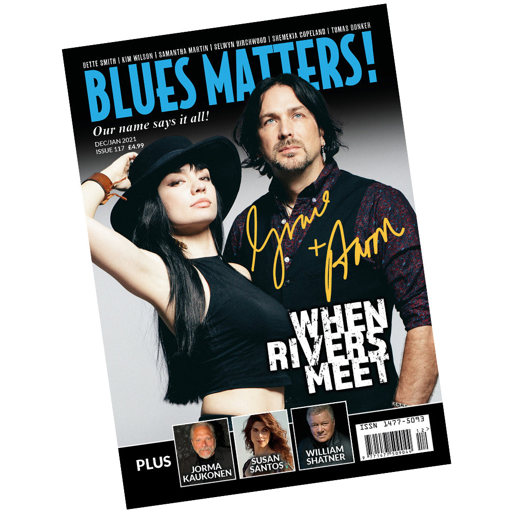 BLUES MATTERS MAGAZINE ~ SIGNED