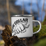 Blue Collar Working Class - Enamel Mug