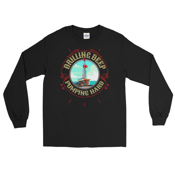 Drilling Rig - Long Sleeve T-Shirt