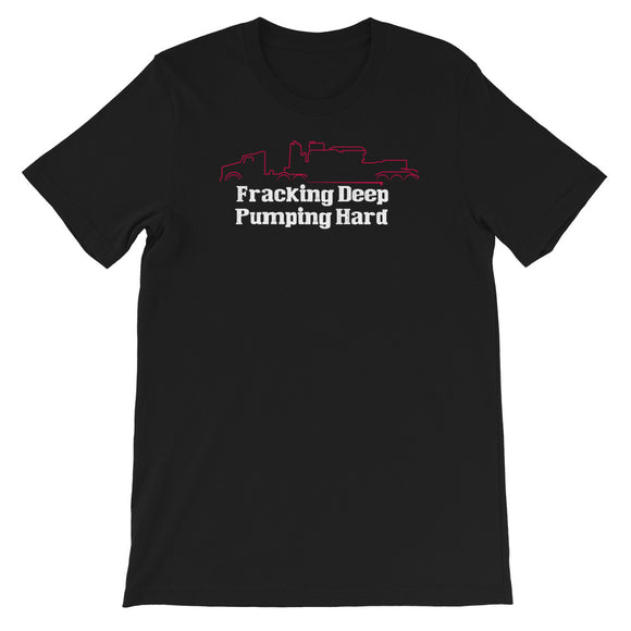 Black - Fracking Deep - Short Sleeve T-Shirt