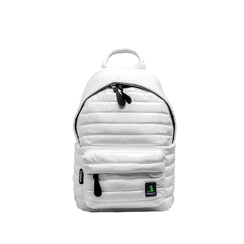 Mueslii Unisex Medium Backpack Metallic White