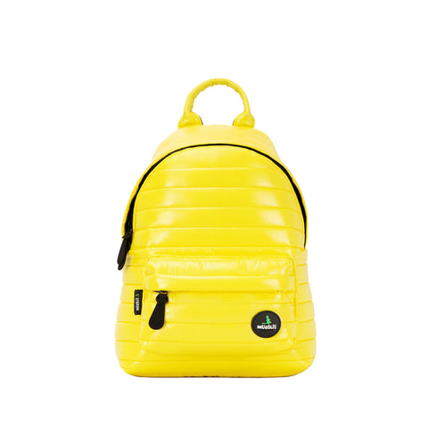 Unisex Mid-Height Backpack Shiny Yellow