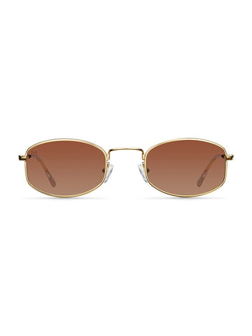 Meller Glasses Suku Gold Cocoa