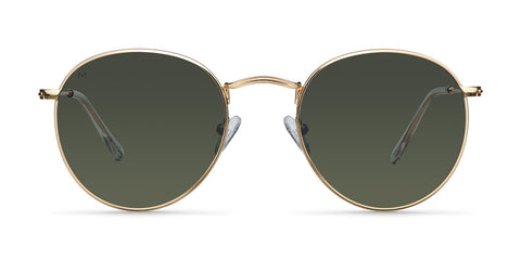 Meller Glasses Yster Gold Olive