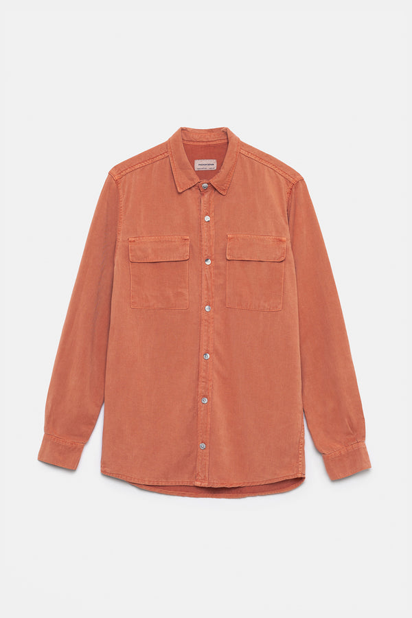 CORAL DENIM SHIRT