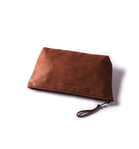 Trousse de Toilette Cuir brun - Small