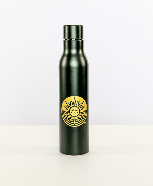 Black & Gold Logo Water Bottle | Cirque du Soleil