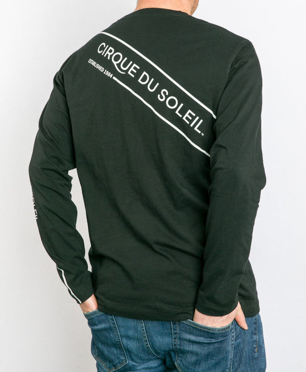 Men's Diagonal Long Sleeve Tee | Cirque du Soleil