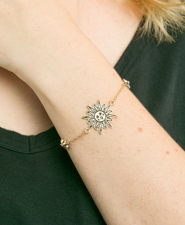 Antique Gold Sun Bracelet  | Cirque du Soleil