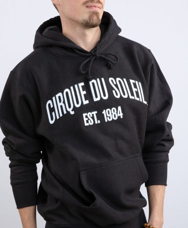Cirque du Soleil Black Unisex Embroidered Hoodie