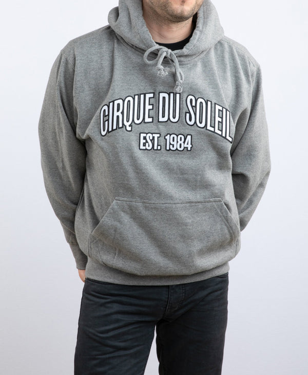 Cirque du Soleil Grey Unisex Embroidered Hoodie