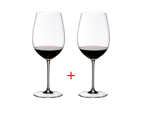 Free Gift: Riedel Sommeliers Bordeaux Grand Cru, Set of 2 (All Orders Over $500)