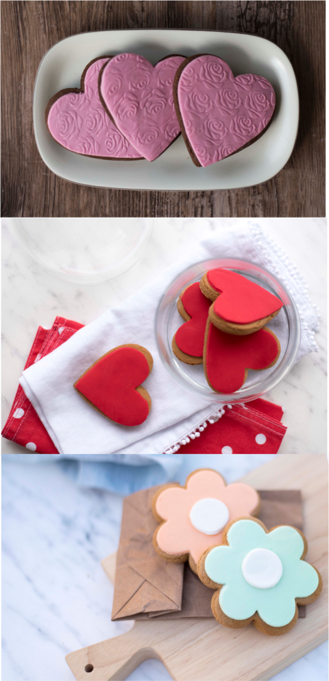 Molly Woppy Gingerbread Red Hearts