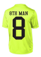 8th Man DriFit Neon Tee