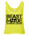 X League Beast Mode Neon Yellow Tank